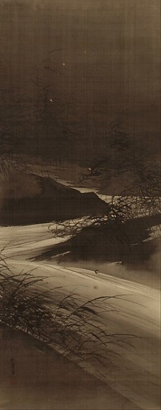 Fireflies Over the Uji River by Moonlight, Suzuki Shonen