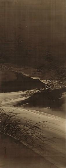 Fireflies Over the Uji River by Moonlight, Suzuki Shonen